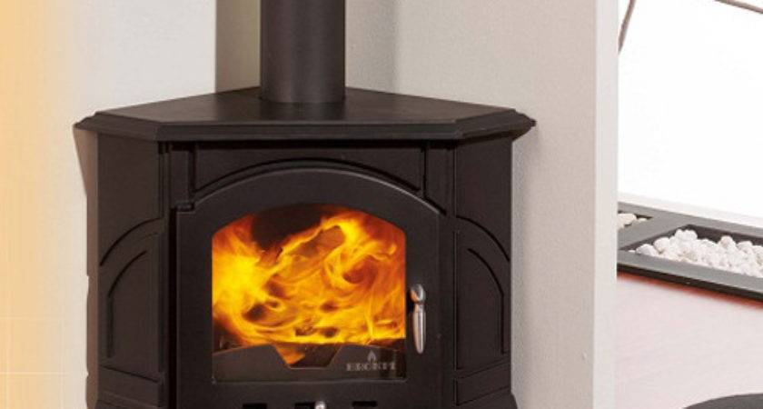 Bronpi Altea Corner Wood Burning Stove Fireplace Products