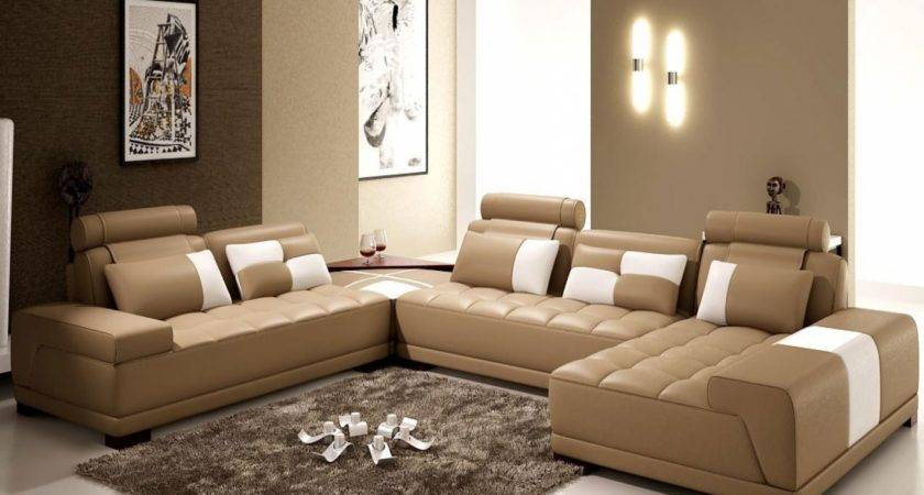 Brown Beige Living Room Ideas