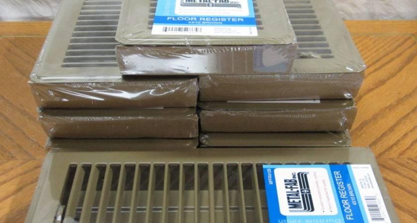 Brown Metal Floor Registers House Mobile