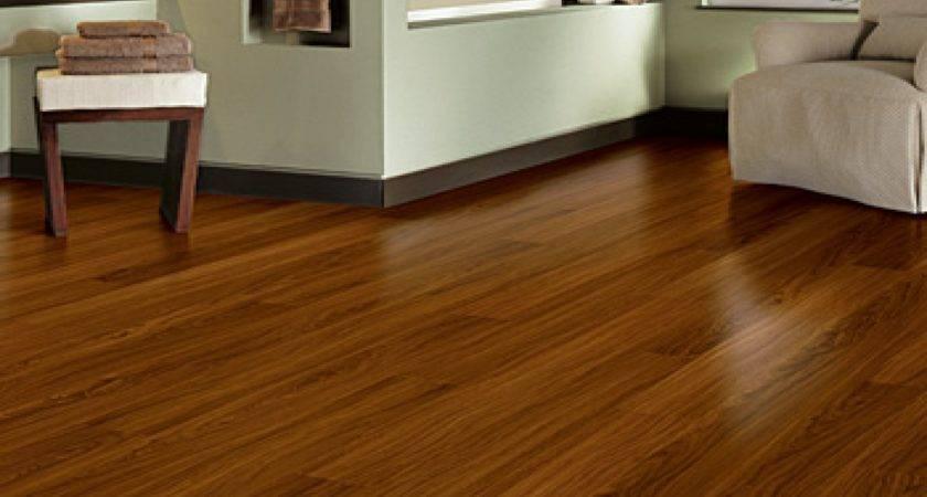 Brown Wooden Allure Vinyl Plank Flooring Matched