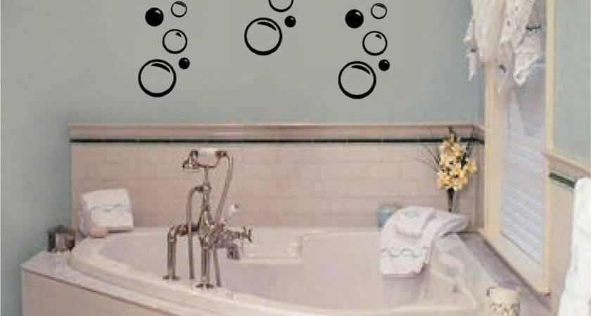 Bubbles Vinyl Wall Decal Stickers Decor Bathroom Art Ebay