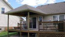 Build Aroof Over Deck Decks Beautiful Put