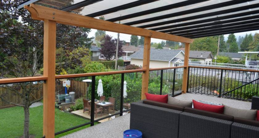 Build Awning Deck Aluminum