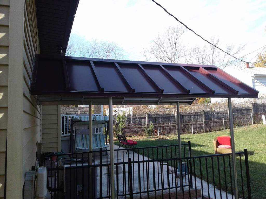 Build Awning Over Deck Outdoor Amazing Adding - Get in The ...