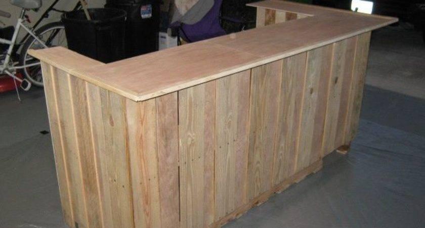 Build Bar Out Pallets Uploaded Pinterest