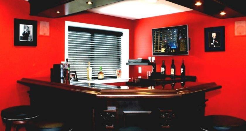 Build Basement Bar Budget Contemporary