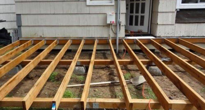 Build Beautiful Platform Deck Weekend