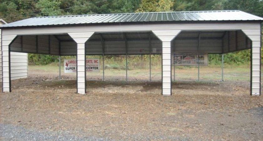 Build Carport Diy Metal Prefab Wooden Kits