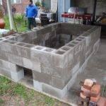 Build Cinder Block Pit Smoker Owner