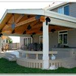 Build Covered Deck Plans Decks Home Decorating Ideas
