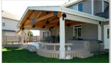 Build Covered Deck Plans Decks Home Decorating Ideas