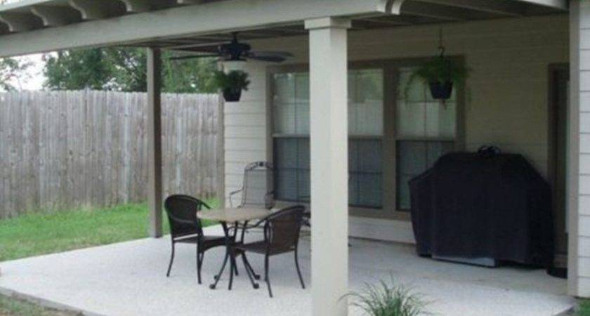 Build Covered Patio Attached House