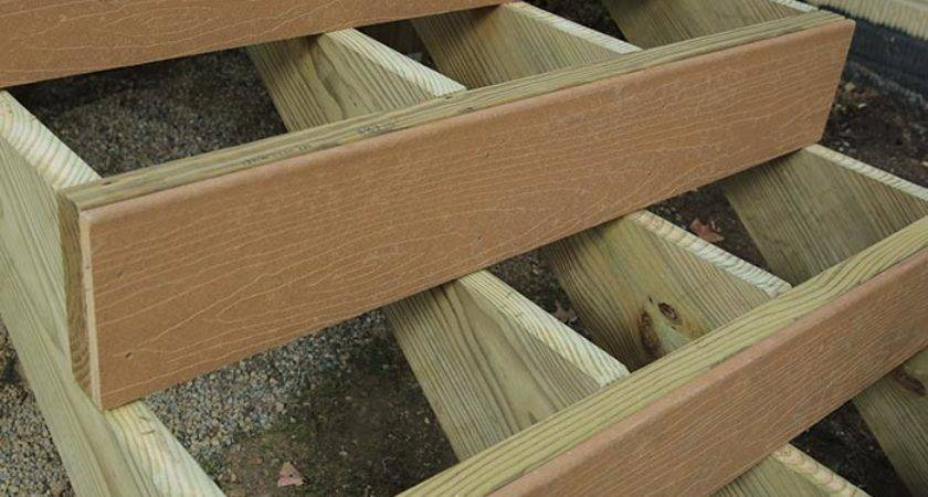 Build Deck Composite Stairs Stair Railings