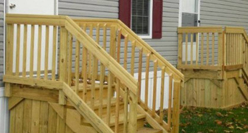 Build Deck Stairs New Home Design