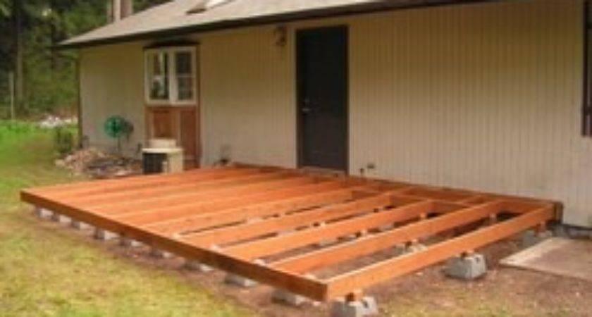 Build Deck Using Blocks Ehow