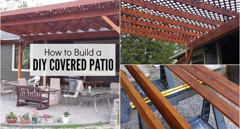 Build Diy Covered Patio
