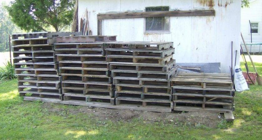Build Diy Pallet Shed Recycled Pallets