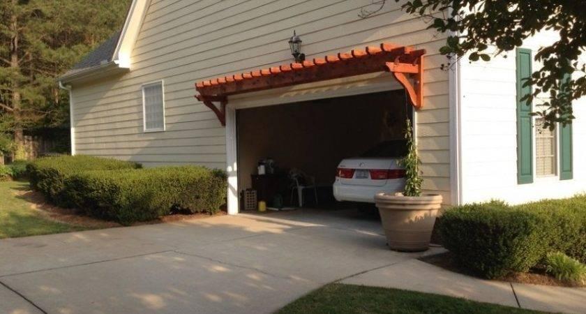 Build Diy Pergola Over Garage Plans Wooden