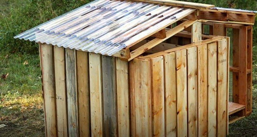Build Dog House Out Pallet Design Ideas