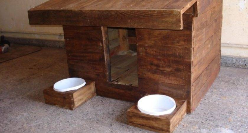 Build Dog House Out Pallet Pic Diy Wood