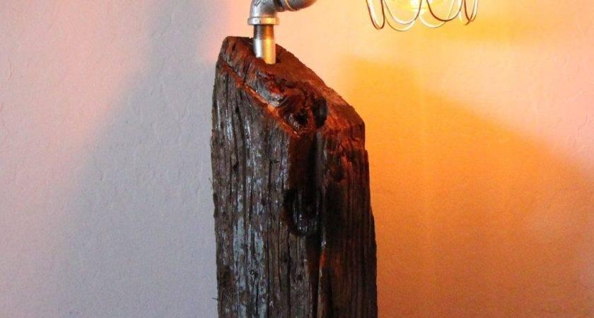 Build Edison Lamp Reclaimed Wood Youtube