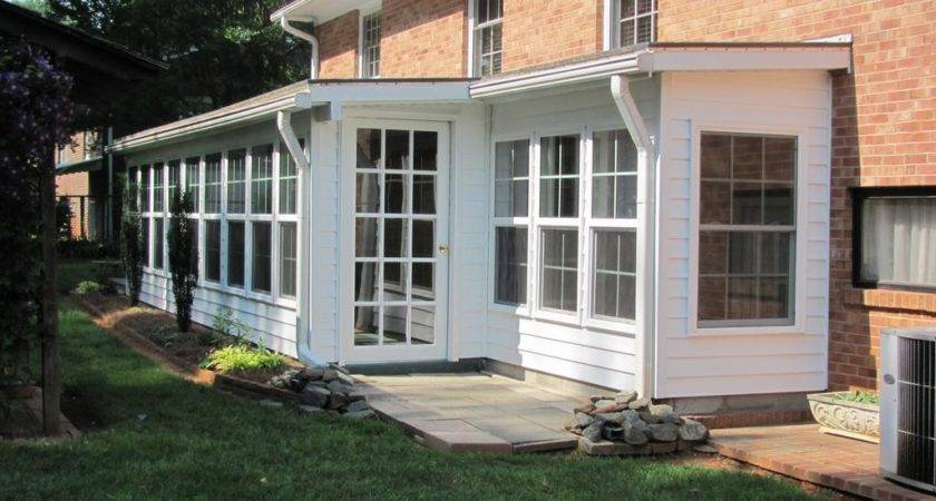 Build Enclosed Back Porch Ideas Karenefoley