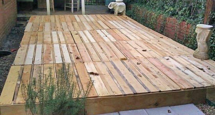 Build Fabulous Diy Floating Deck Pallets