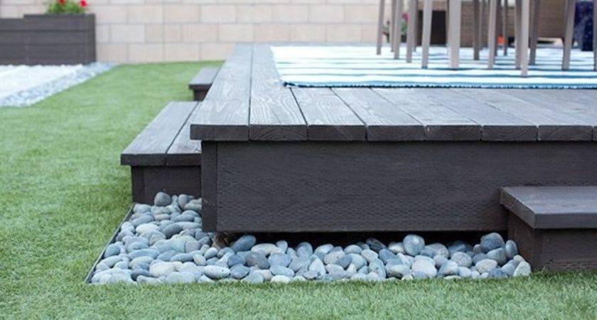 Build Floating Deck Home Depot