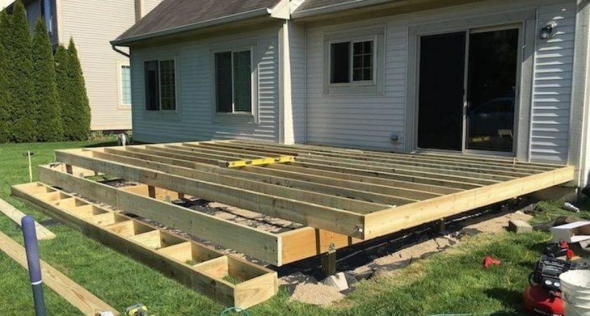 Build Floating Deck Plans