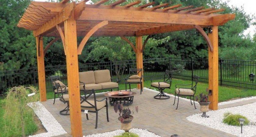 Build Freestanding Patio Cover Covered