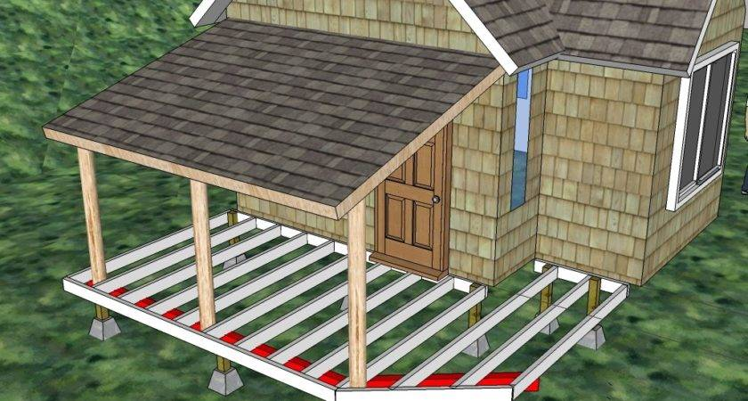 Build Front Porch Detailed Direction