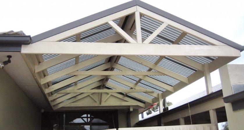 Build Gable Roof Pergola Outdoor Goods