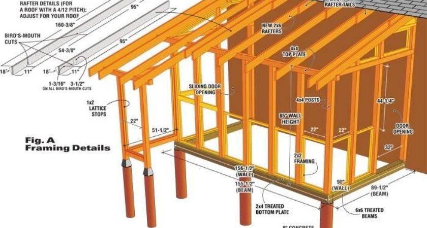 Build Garden Shed Addition Handyman