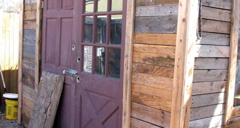 Build Garden Shed Out Pallets