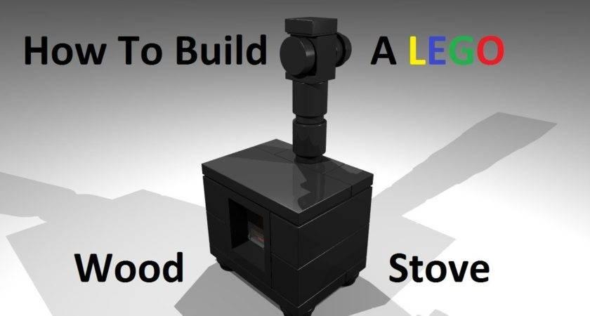 Build Lego Wood Stove Custom Moc Instructions
