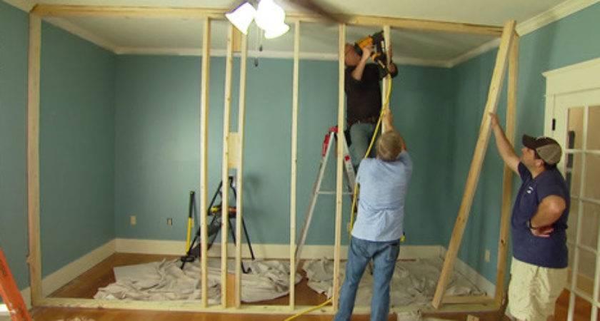 Build Non Load Bearing Interior Wall Today