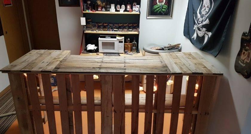 Build Pallet Bar Youtube