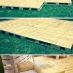 Build Pallets Deck Furniture Pallet Wood