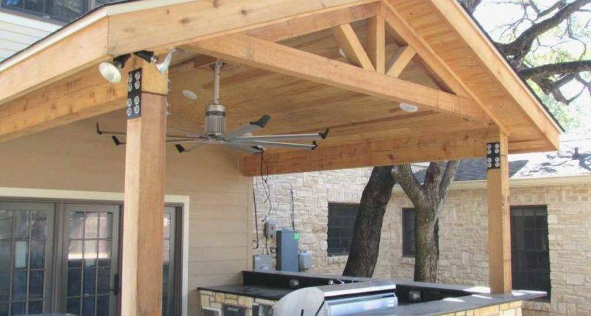 Build Patio Cover Attached House Awesome