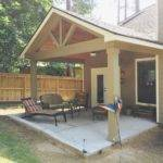 Build Patio Cover Attached House New Gable