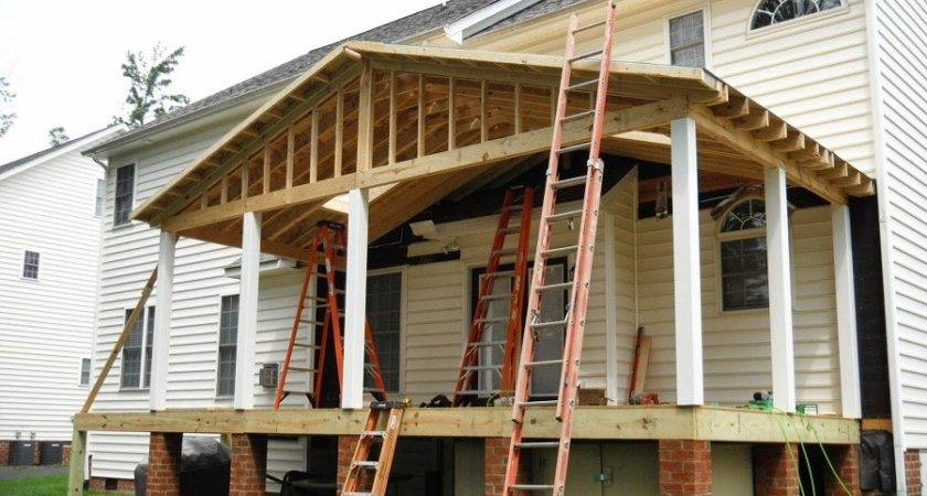 Build Porch Roof Designs
