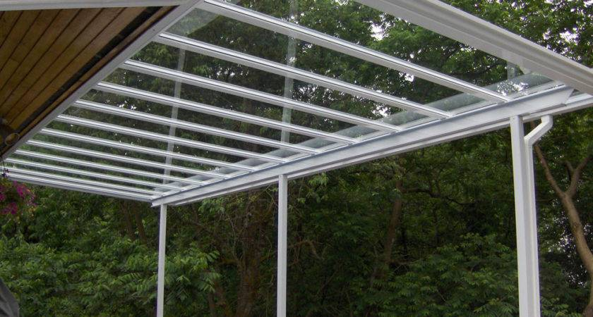 Build Porch Roof Glass