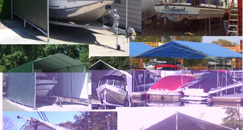 Build Portable Carport Stop Weather Damage
