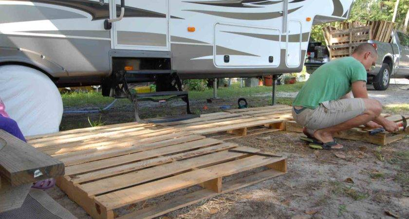 Build Portable Deck Outdoorscart
