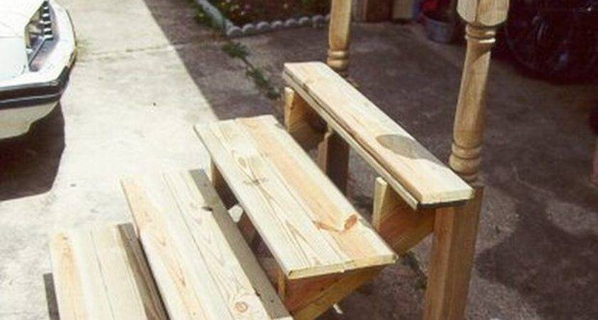 Build Portable Steps Camping Pinterest