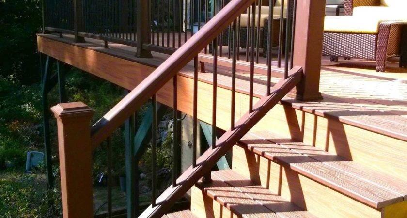 Build Railing Deck Stairs Washington Post