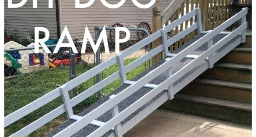 Build Ramp Over Stairs Ideas Dog