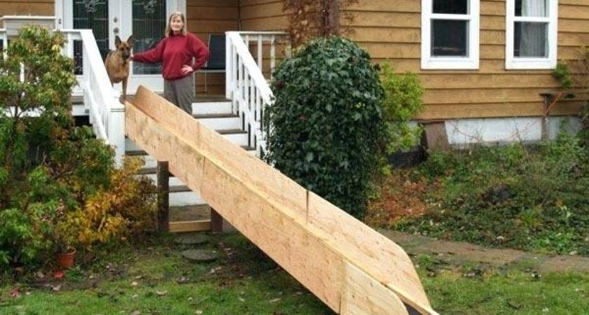 Build Ramp Over Stairs Integrated