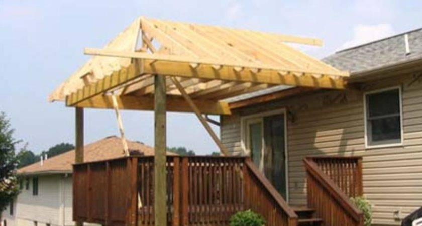 Build Roof Over Deck Ehow