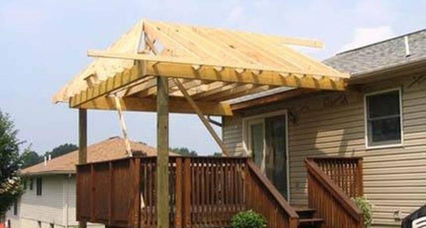 Build Roof Over Deck Hunker